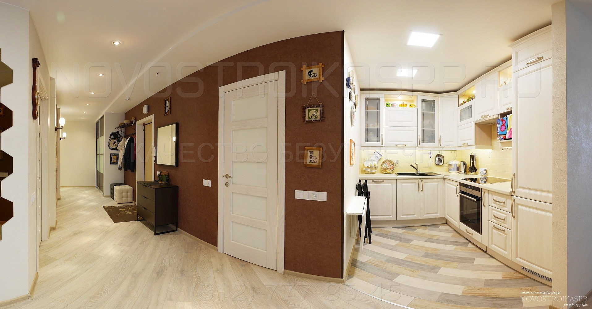 Отделка квартиры в новостройке цена материалом