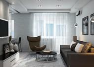 Дизайн двухкомнатной квартиры Богатырский проспект дом 7 (Гостиная)
