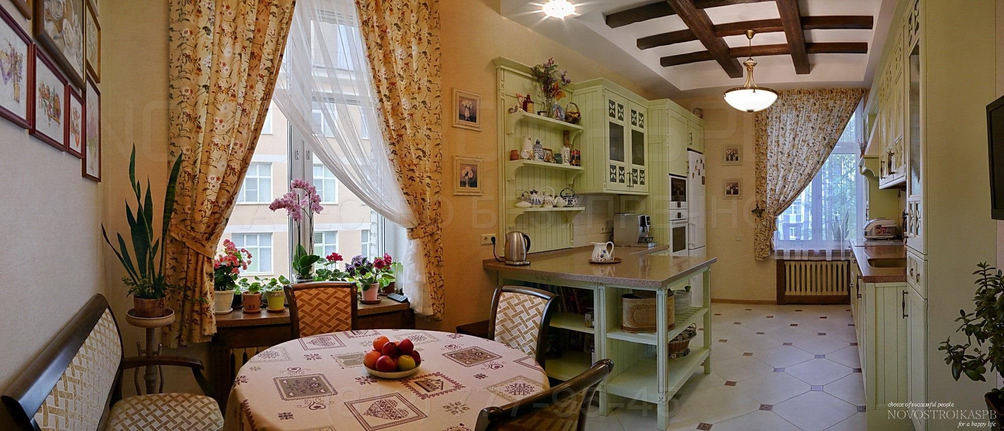 Интерьер квартиры сталинского дома