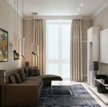 Дизайн двухкомнатной квартиры_20