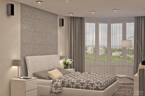Дизайн однокомнатной квартиры_3