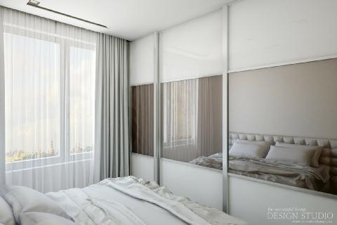 Дизайн однокомнатной квартиры_5