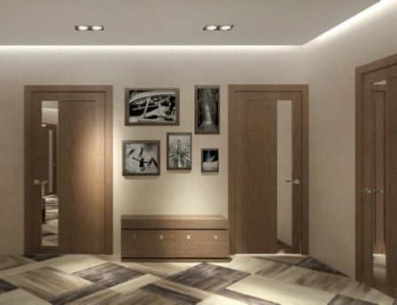 Дизайн трёхкомнатной квартиры ФОТО