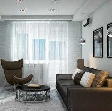 Дизайн двухкомнатной квартиры_16