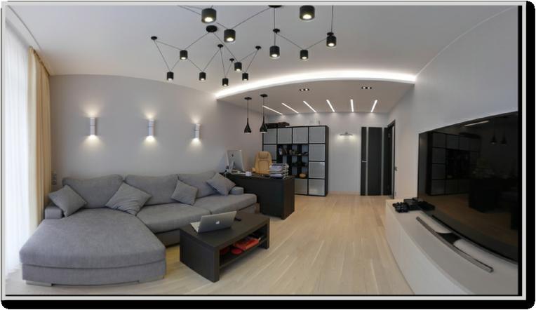 Элитная отделка квартиры 72,8 м.кв. в ЖК Царская столица