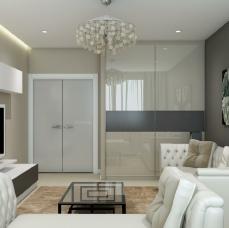Дизайн двухкомнатной квартиры_17