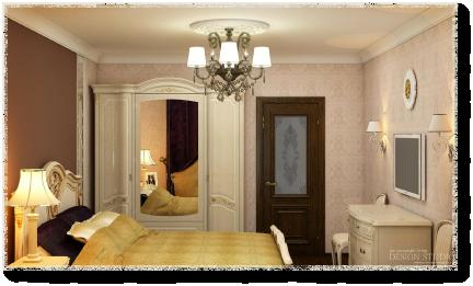 Дизайн трёхкомнатной квартиры_4