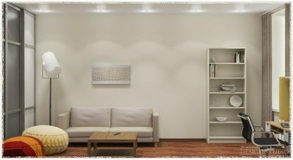 Дизайн однокомнатной квартиры_7